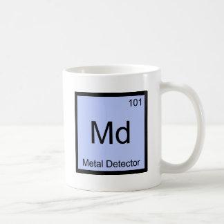 Md - Metal Detector Chemistry Element Symbol Tee Classic White Coffee Mug