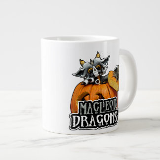 MD Pumpkin Dragon 20oz. Jumbo Mug 20 Oz Large Ceramic Coffee Mug