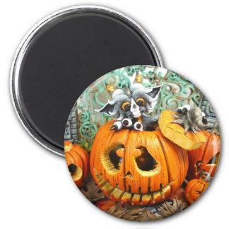 MD Pumpkin Dragon Magnet