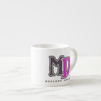 MD Purple Logo Expresso Mug 6 Oz Ceramic Espresso Cup