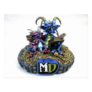 MD Storytime Dragons Postcard