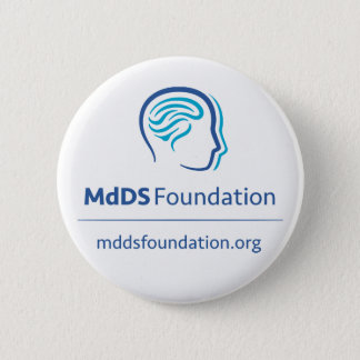 MdDS Awareness, 2¼ Inch Round Button