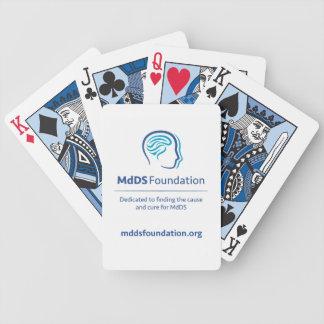 MdDS Awareness Bicycle Playing Cards