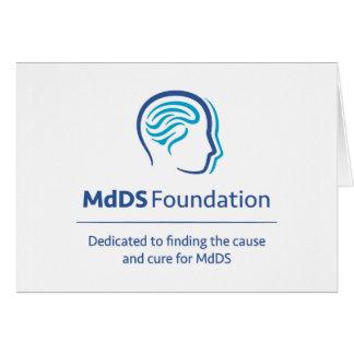 MdDS Awareness Note Card