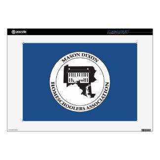 MDHSA - Logotipo de Dixon Homeschoolers Assc del Calcomanía Para 38,1cm Portátil