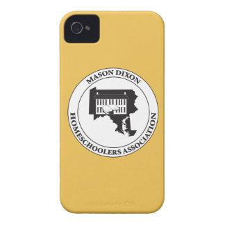MDHSA - Logotipo de Dixon Homeschoolers Assc del Carcasa Para iPhone 4