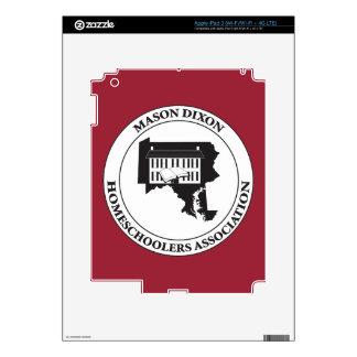 MDHSA - Logotipo de Dixon Homeschoolers Assc del Pegatinas Skins Para iPad 3