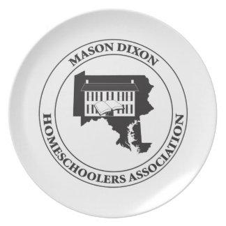 MDHSA - Logotipo de Dixon Homeschoolers Assc del Plato