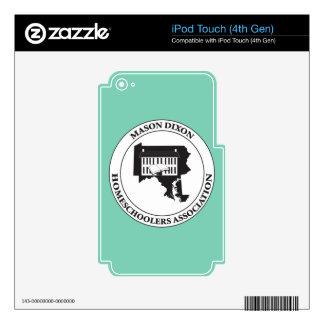 MDHSA - Logotipo de Dixon Homeschoolers Assc del Skins Para iPod Touch 4G