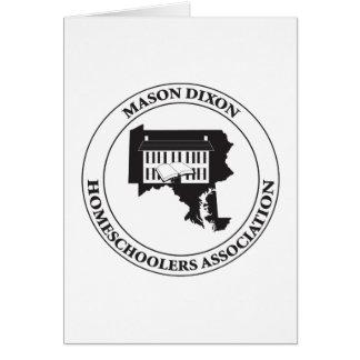 MDHSA - Logotipo de Dixon Homeschoolers Assc del Tarjeta De Felicitación