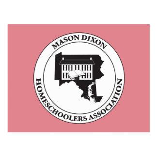MDHSA - Logotipo de Dixon Homeschoolers Assc del Postales