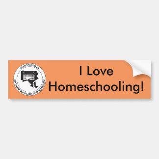 MDHSA - Mason Dixon Homeschoolers Assc Logo Bumper Sticker