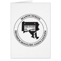 MDHSA - Mason Dixon Homeschoolers Assc Logo Card