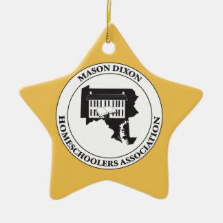 MDHSA - Mason Dixon Homeschoolers Assc Logo Ceramic Ornament