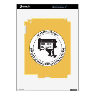 MDHSA - Mason Dixon Homeschoolers Assc Logo Decal For The iPad 2
