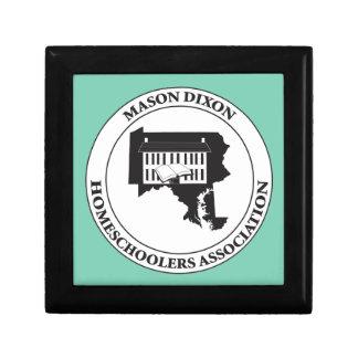 MDHSA - Mason Dixon Homeschoolers Assc Logo Jewelry Box