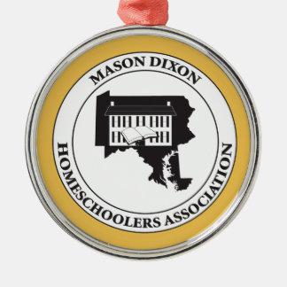 MDHSA - Mason Dixon Homeschoolers Assc Logo Metal Ornament
