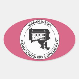 MDHSA - Mason Dixon Homeschoolers Assc Logo Oval Sticker
