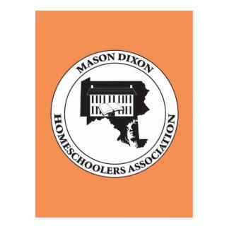 MDHSA - Mason Dixon Homeschoolers Assc Logo Postcard