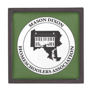 MDHSA - Mason Dixon Homeschoolers Assc Logo Premium Jewelry Box