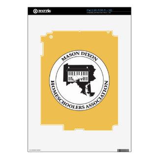 MDHSA - Mason Dixon Homeschoolers Assc Logo iPad 2 Decals