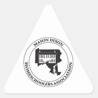 MDHSA - Mason Dixon Homeschoolers Assc Logo Triangle Sticker