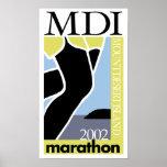 MDI Marathon - Vintage 2002 Poster