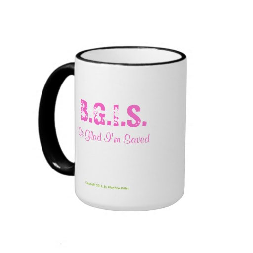 MDillon Designs BGIS Mug (Pink)