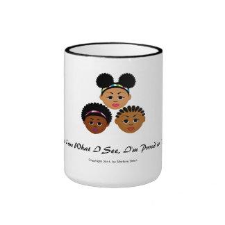 MDillon Designs I'm Proud to Be Natural Me Coffee Mug