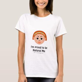 MDillon Designs Proud to Be Natural Me (Redhead) T-Shirt