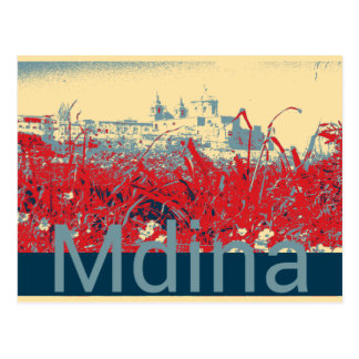 Mdina Postcard