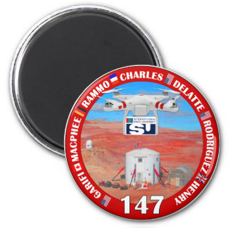 MDRS Crew 147 Magnetic Button Magnet