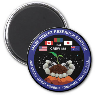 MDRS Crew 188 Magnetic Button Magnet