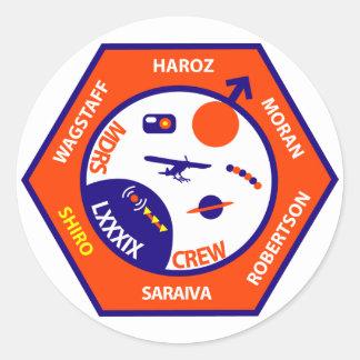 MDRS Crew 89 Sticker