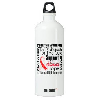 MDS Awareness I Wear a Ribbon Tribute SIGG Traveler 1.0L Water Bottle