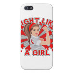 MDS Awareness Modern Rosie Fight Like a Girl Cover For iPhone 5