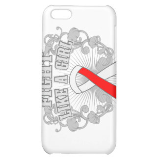 MDS Fight Like A Girl Fleurish iPhone 5C Cases