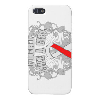 MDS Fight Like A Girl Fleurish Covers For iPhone 5