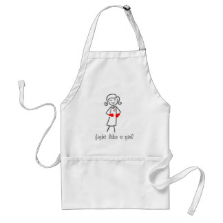 MDS Fight Like A Girl (Retro) Adult Apron