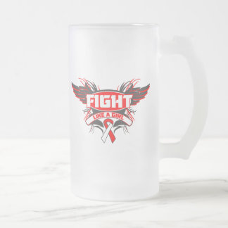 MDS Fight Like a Girl Wings.png Coffee Mugs