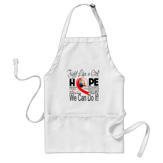 MDS Fight We Can Do It Adult Apron