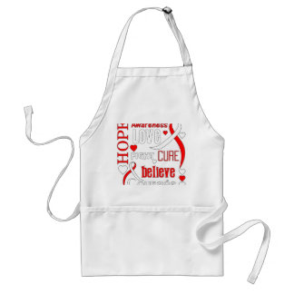 MDS Hope Words Collage Adult Apron