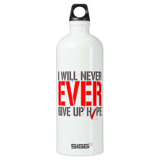MDS I Will Never Ever Give Up Hope SIGG Traveler 1.0L Water Bottle