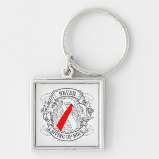 MDS Never Giving Up Hope Keychain