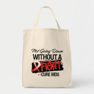 MDS Not Going Down Without a Fight Canvas Bags