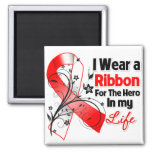MDS Ribbon Hero in My Life Refrigerator Magnets