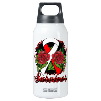 MDS Survivor Rose Grunge Tattoo SIGG Thermo 0.3L Insulated Bottle
