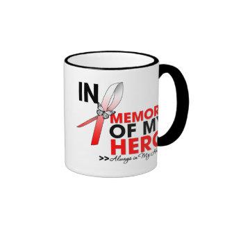 MDS Tribute In Memory of My Hero Ringer Mug