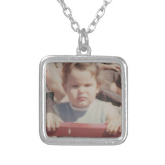 Me3 Silver Plated Necklace