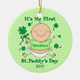 Me 1st St. Paddy's Day Custom Ornament